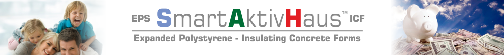 EPS SmartActiveHaus™ ICF - Expanded Polystyrene - Insulated Concrete Forms